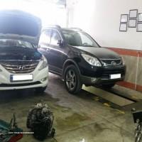 تعمیر جلو بندی خودرو های هیوندای