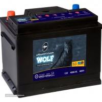 فروش باتری برنا 60 آمپر برند وولف در اصفهان ایران باطری