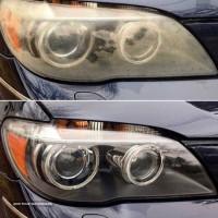شفاف سازی چراغ خودرو