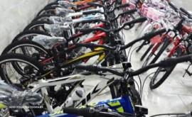 فروش دوچرخه در خیابان فروغی
