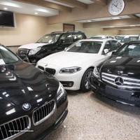 نمایشگاه خودرو های لوکس در اصفهان