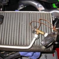 شستشوی رادیاتور بخاری خودرو با دستگاه